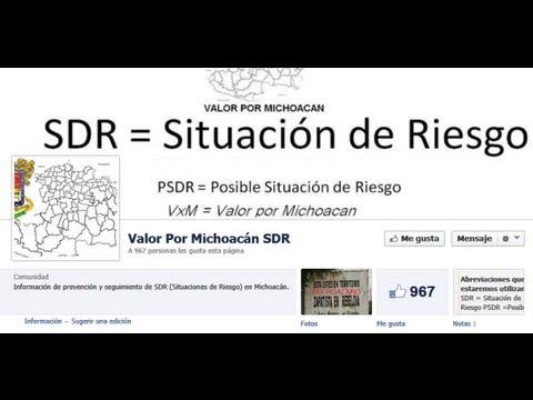 Nueva página OFICIAL de Facebook Valor por Michoacán