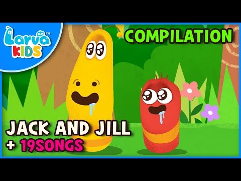 [Larva KIDS] Jack and Jill - English - and other songs from Larva KIDS