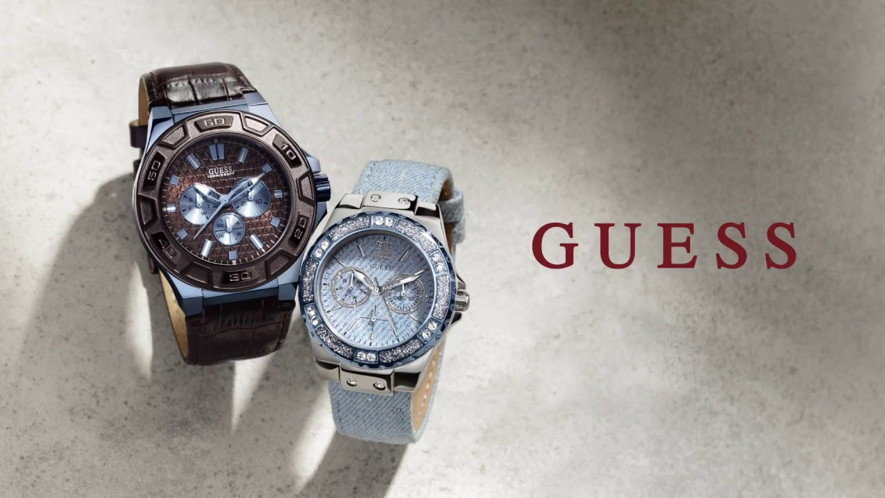 GUESS Watches: For Men and Women - YouTube