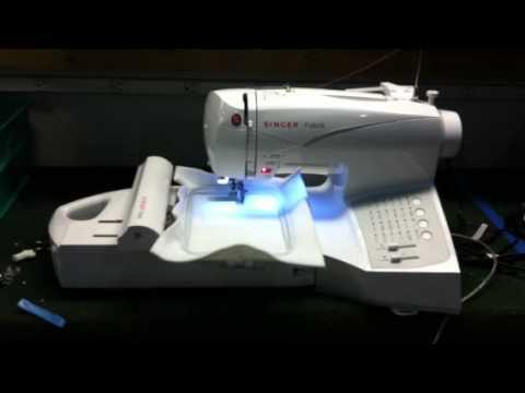 Singer Futura Embroidery Sewing Machine CE40 CE40 CE40 YouTube Beauteous Singer Futura Ses1000 Embroidery Sewing Machine