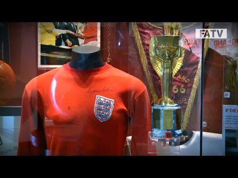 Inside the National Football Museum