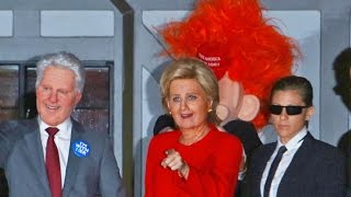 Hillary And Trump! Katy Perry And Orlando Bloom At Kate Hudson's Halloween Bash