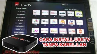 Download Video Cara Setting Pemasangan USEE TV Tanpa Kabel LAN - Step By Step MP3 3GP MP4
