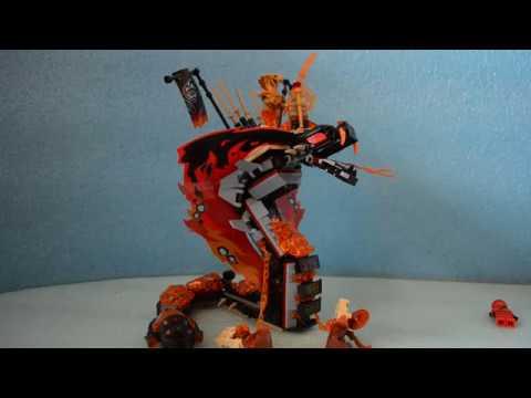 Lego Ninjago Ognisty Kieł - Wąż. Wężony - Kai - Recenzja, Bajka