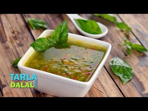 Vegetable and Basil Soup (Diabetic Recipe) by Tarla Dalal
