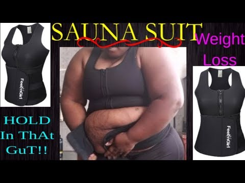 8b029d5b35 Sauna Suit~Weight loss - YouTube