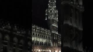 Видео Планета Тур Кельн. Бельгия. Вечерний Брюссель. 11.2017 год.