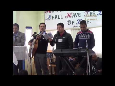 Youth Camp 2017 El shaddai Song No. 2 By Bejoy Subba from Mt Pisgah Darjeeling