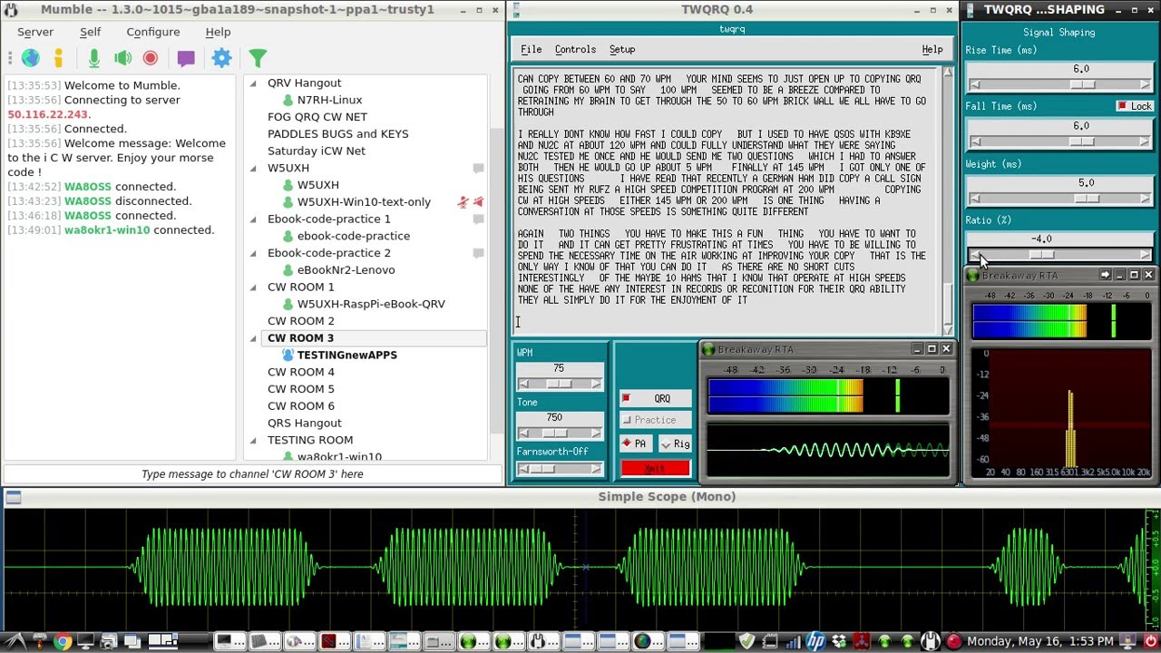 Ham morse code decoder software for windows