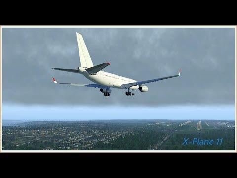Cтрим X-Plane 11 ULLI/PULKOVO --- UUWW/VNUKOVO / Airbus A319 /