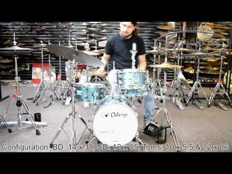 Odery CafeKit Portable Drum Set
