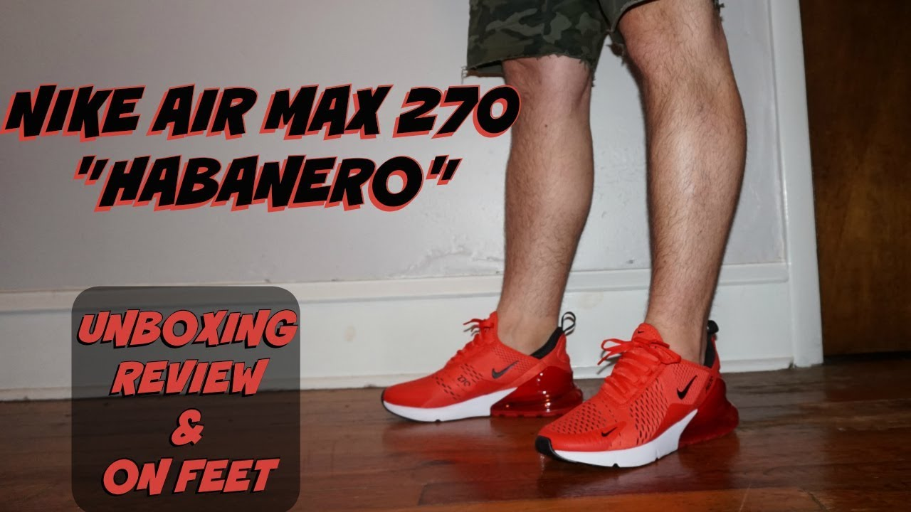 HONEST REVIEW OF THE NIKE AIR MAX 270