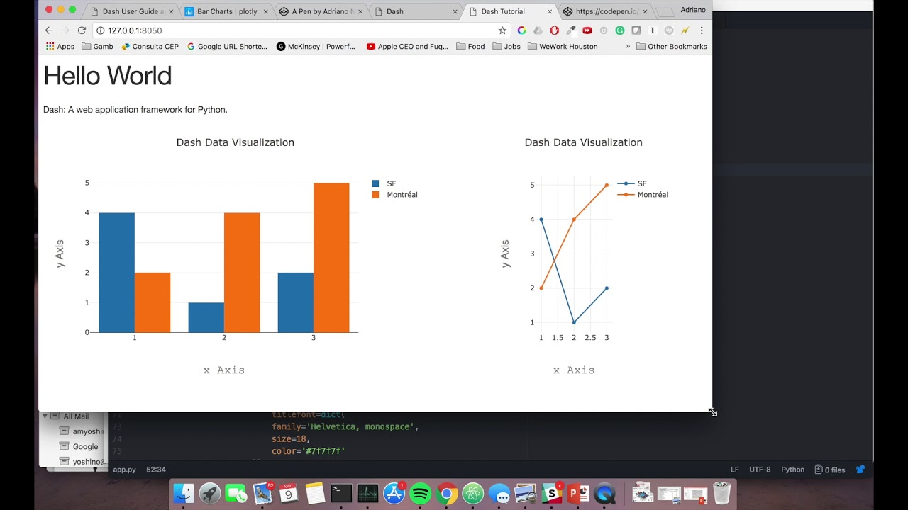 Plotly Dash Tutorial - Styling your app with Bootstrap (Video 02)