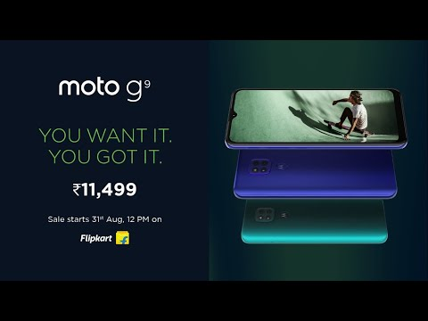 Get the all-new #motog9 at just ₹11,499