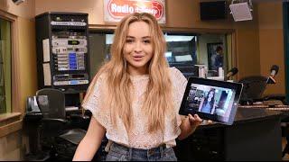 vuclip Sabrina Carpenter RD DM | Radio Disney Direct Message