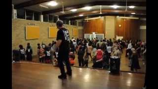 SAMBALERO  Line Dance @ 2012 Ira Weisburd Nuline Workshop Social in Perth, Western Australia.AVI