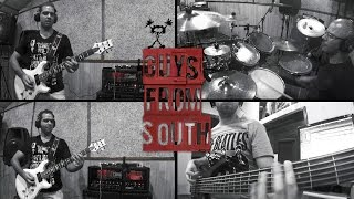 even flow pearl jam cover by guys from south