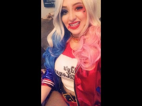 HARLEY QUINN COSPLAY! COME PLAY GTA V WITH YOUR GIRL :]