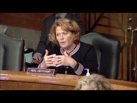 Heitkamp Discusses the State of our Nation