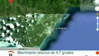 Sucre, Venezuela: Sismo de 4.7 grados en Güiria