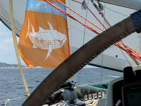 www.charterayacht.gr - Sailing at Halkidiki Sithonia daycruise from Porto Carras Part 1.AVI