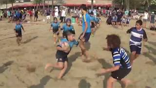 CRSC S10 2018 09 22 SantCu 2 Vs  UES 2 Torneig Rugby Playja La Mercè ...