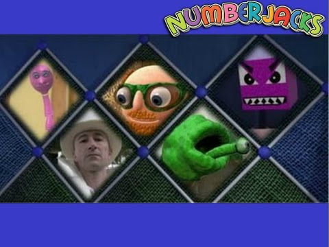 Numberjacks - All of the Meanest Meanie Challenges
