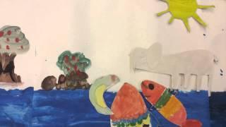 Film i förberedelseklass – Fisken och bollen!