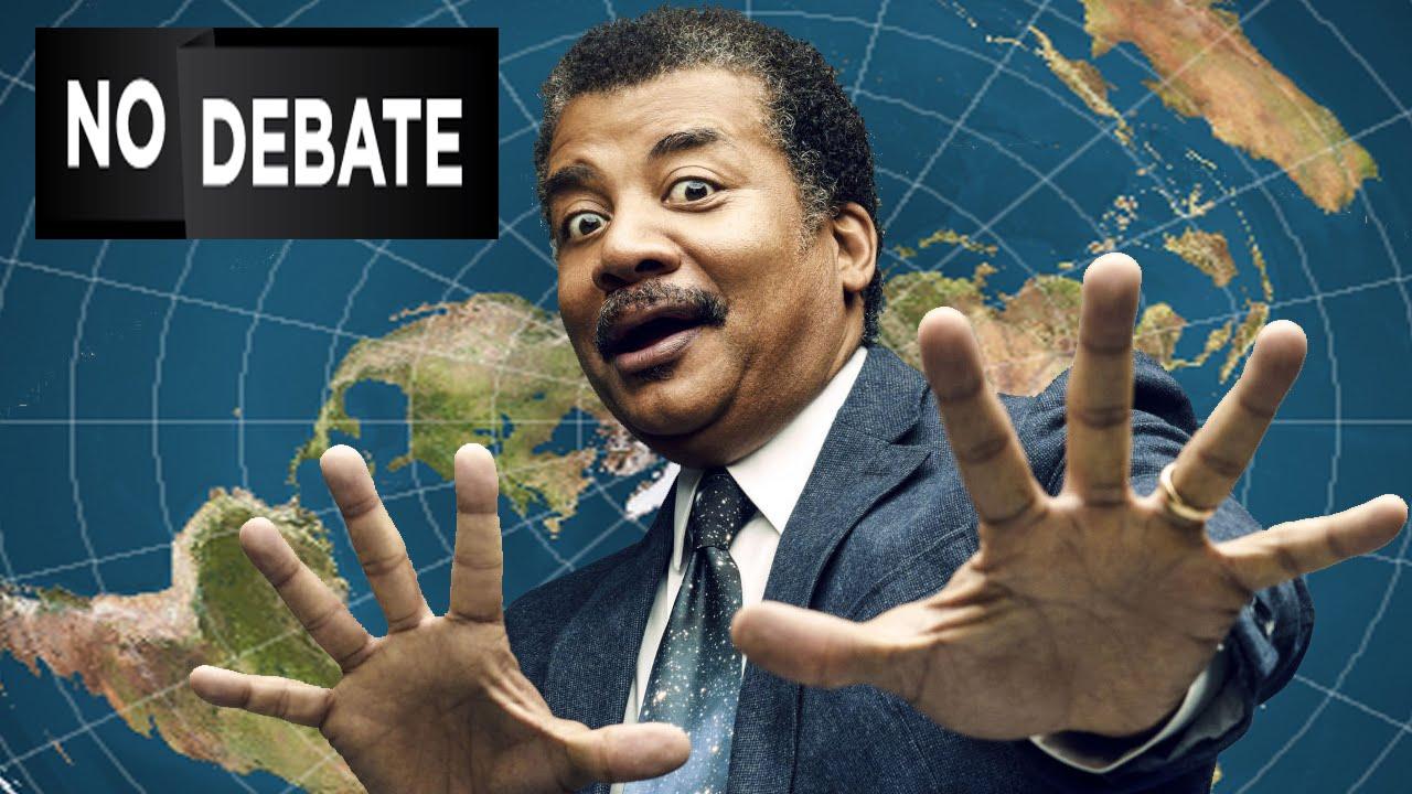 Neil deGrasse Tyson Advises Media NOT to Debate FLAT EARTH ...