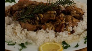 Rabbit Ligurian Style - Recipe by Rossella Rago - Cooking with Nonna