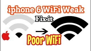 iPhone 6 Poor WiFi Signal | How To Fix it | Hindi