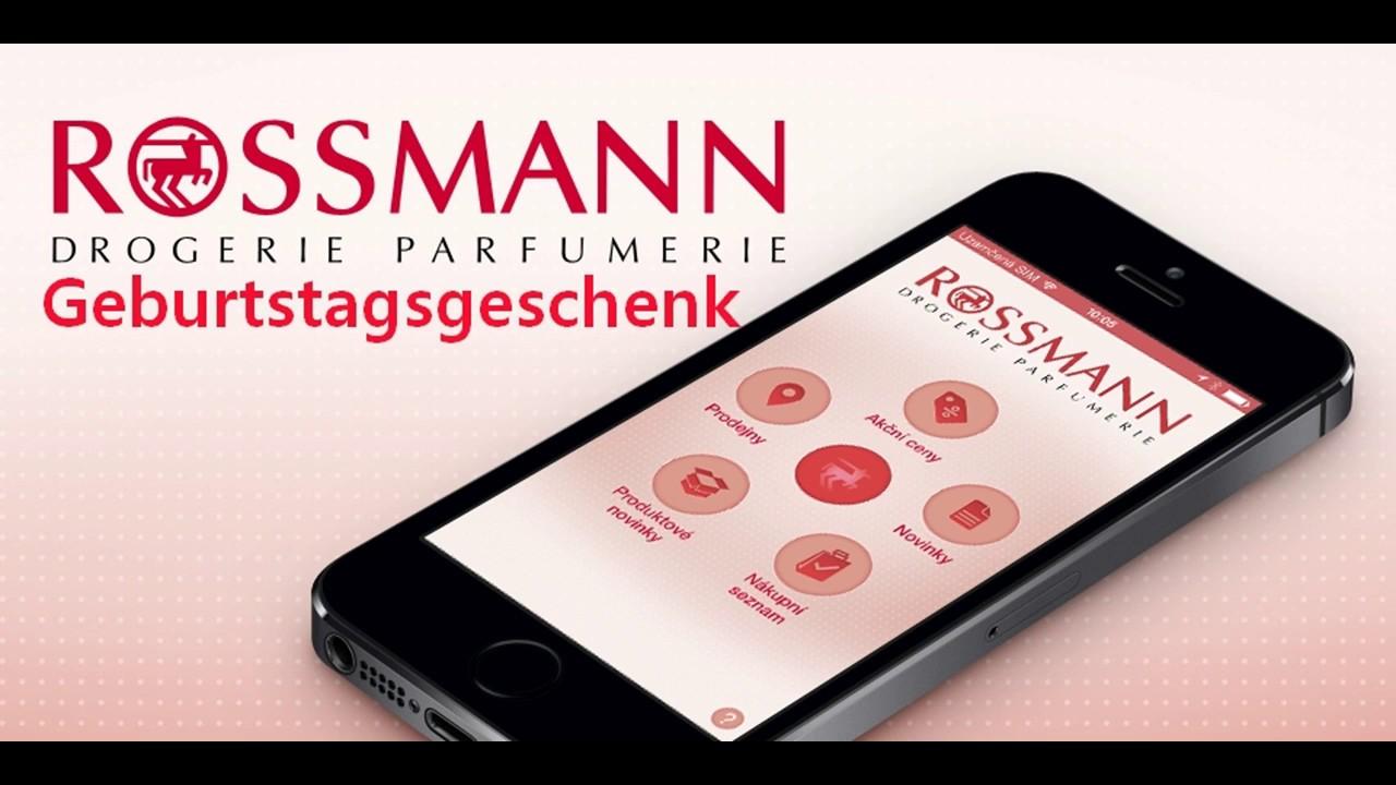 Rossmann Coupon 2017 - GRATIS Geschenk zum Geburtstag in der App ...