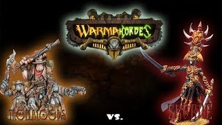 Warmachine & Hordes - Trollbloods (E-Grissel) vs. Skorne (Naaresh) - 50pt Battle Report