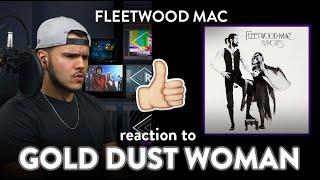 Fleetwood Mac Reaction Gold Dust Woman (Audio) | Dereck Reacts