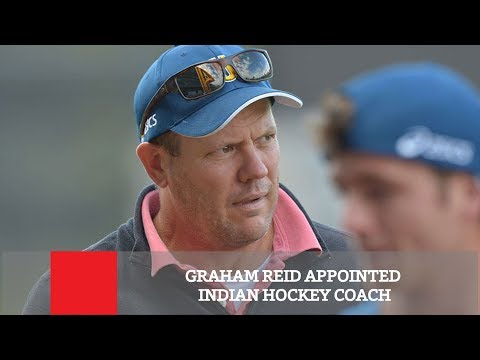 Graham Reid Appointed Indian Hockey Coach
