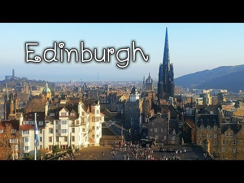 Hello Edinburgh -  Edinburgh Castle - City centre -Scotland