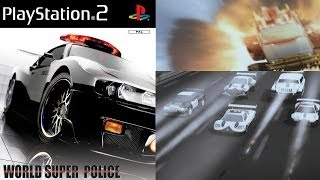 World Super Police Gameplay Intro PS 2 HD