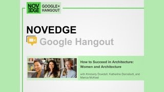 How To Succeed In Architecture Women And Architecture