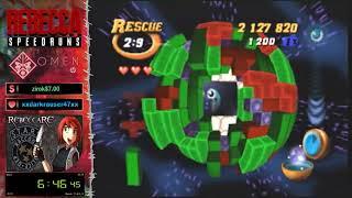 Tetrisphere N64 Rescue 10-10 Speedrun (Wheels) - 1:44:57 (2nd place)