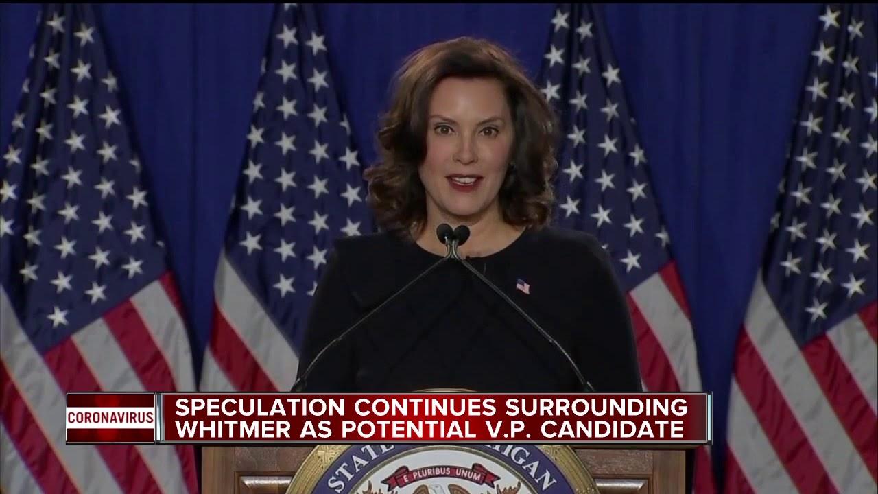 The 11th Hour Speculation Regarding Gretchen Whitmer as Biden's ...