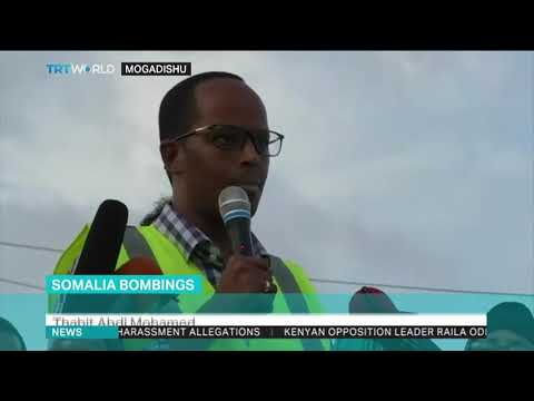 Somalians march against deadly attacks in Mogadishu