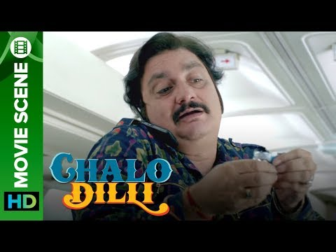 Vinay Patak misbehaves in Air India - Chalo Dilli