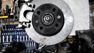 ланос , сенс задние дисковые тормоза ч.1