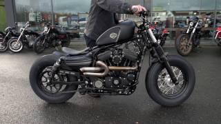 UPROAR! Custom Sportster - Harley-Davidson Battle of the Kings 2017