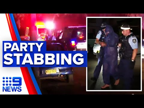 Man stabbed during New Year's Eve party | 9 News Australia thumbnail