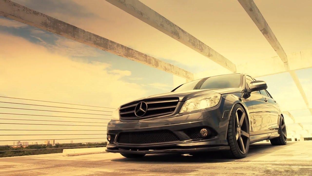 Mercedes Benz C Class C350 On 19 Vossen Vvs Cv3 Concave Wheels Rims Youtube