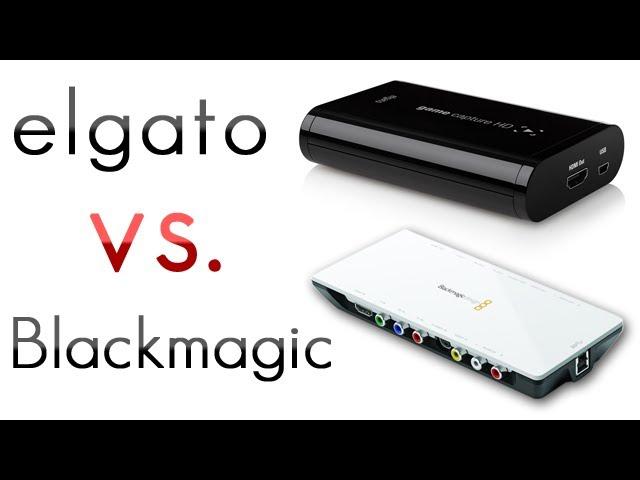 Elgato Game Capture Hd Review 3 Elgato Vs Blackmagic Youtube
