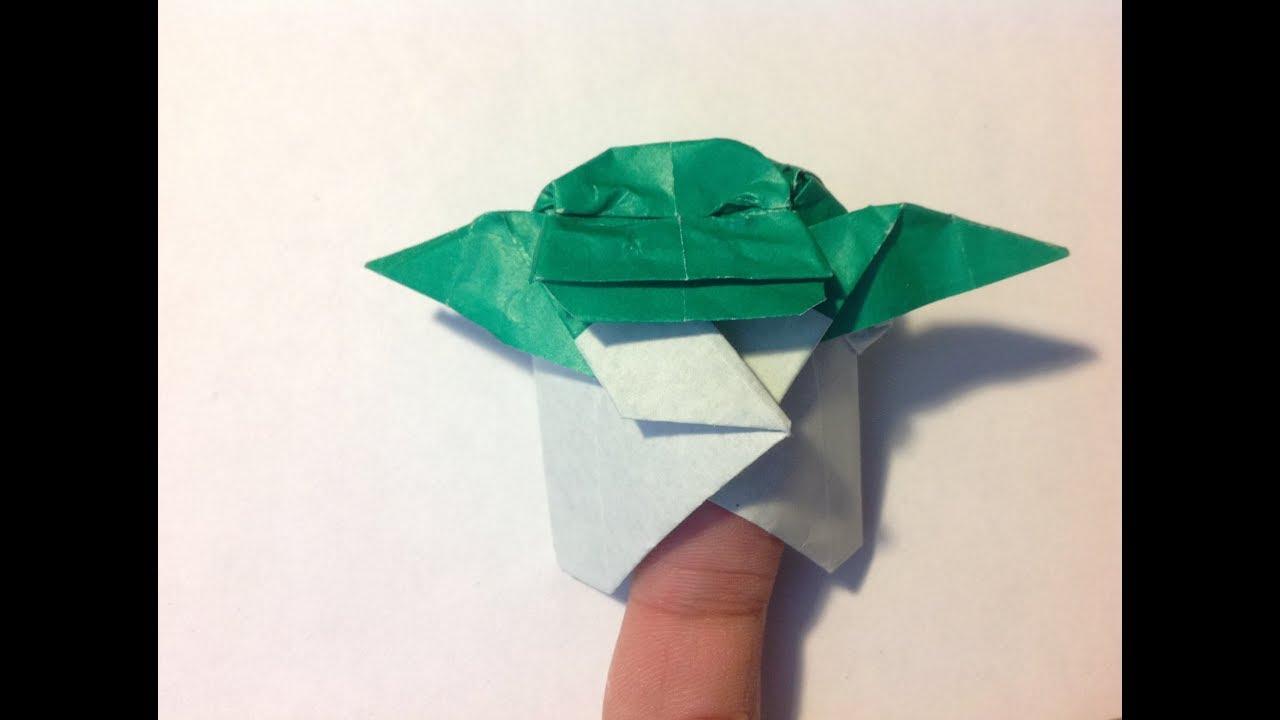 Origami Baby Yoda Printable | 720x1280