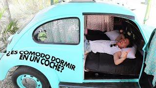 ¿Cómo es dormir en un coche antiguo? | VOCHO HOTEL 🚙