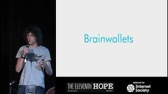 "The Eleventh HOPE (2016): ""Stealing Bitcoin with Math"""